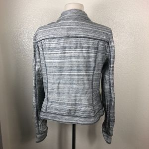 Anthropologie Jackets & Coats - Anthropologie l Gray Asymmetrical Zip Up Jacket